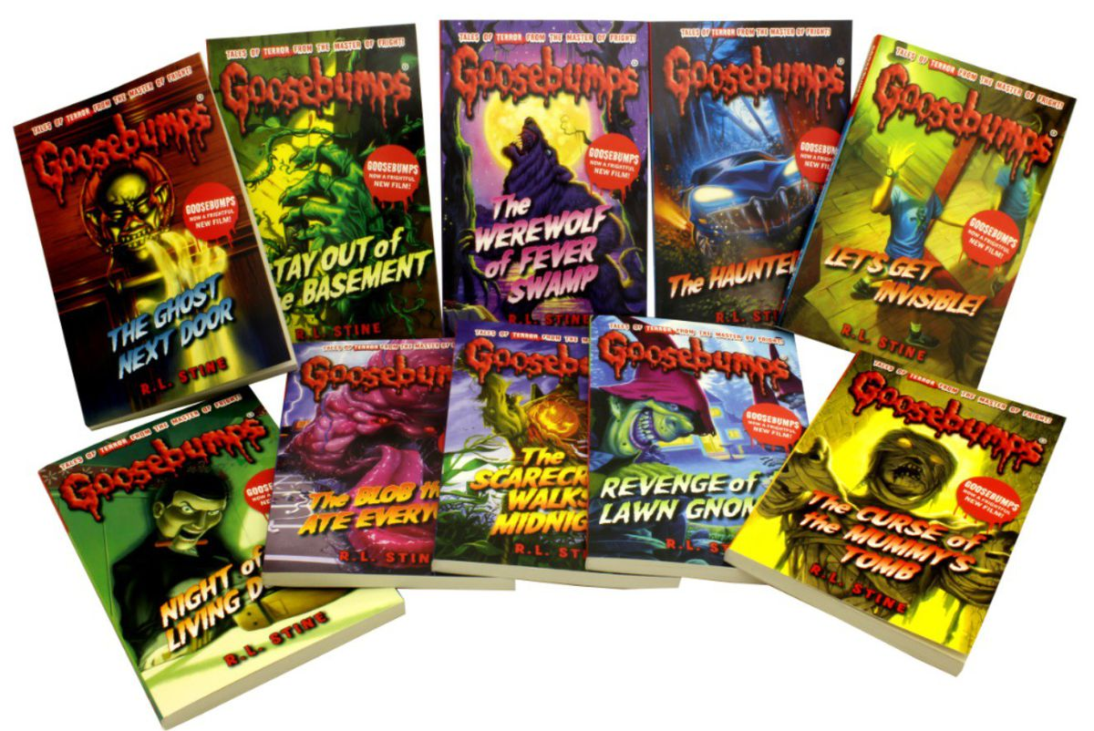 Goosebumps series scare yourself silly series 10 books collection goosebumps series scare yourself silly series 10 books collection fandeluxe Gallery