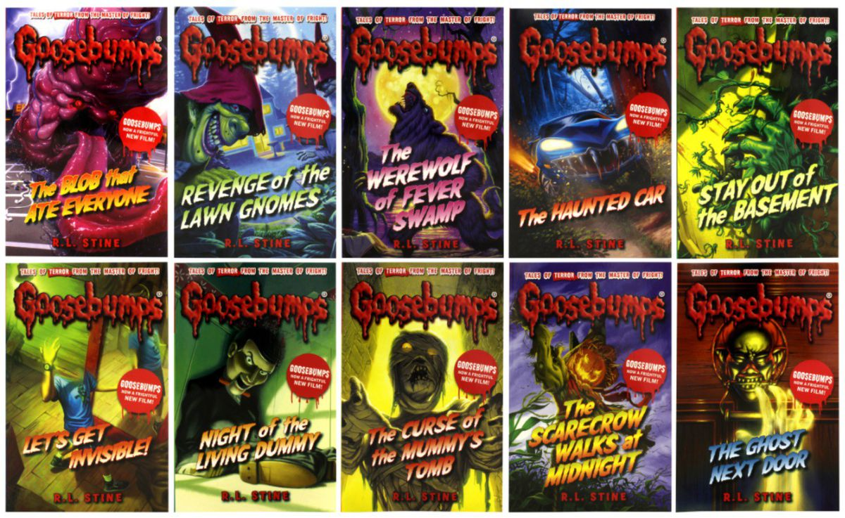Book Cover Series List ~ Goosebumps books list pictures to pin on pinterest daddy