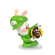 Mario + Rabbids Kingdom Battle: Rabbid Luigi 3 Inch Figurine