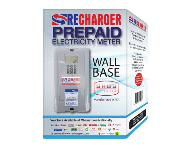 Recharger Conlog Single Phase Prepaid Electricity Meter