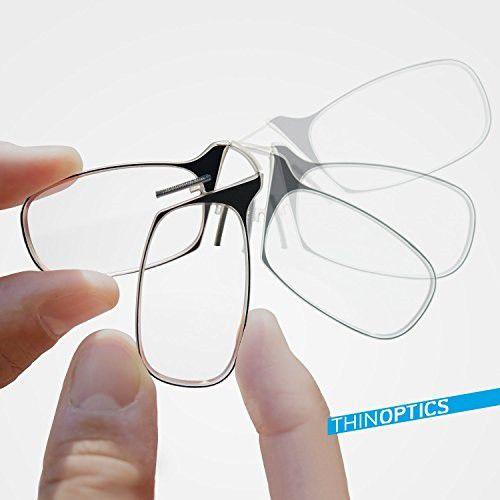 Thinoptics Reading Glasses - Red Frame (2.0 Strength) | Buy Online ...