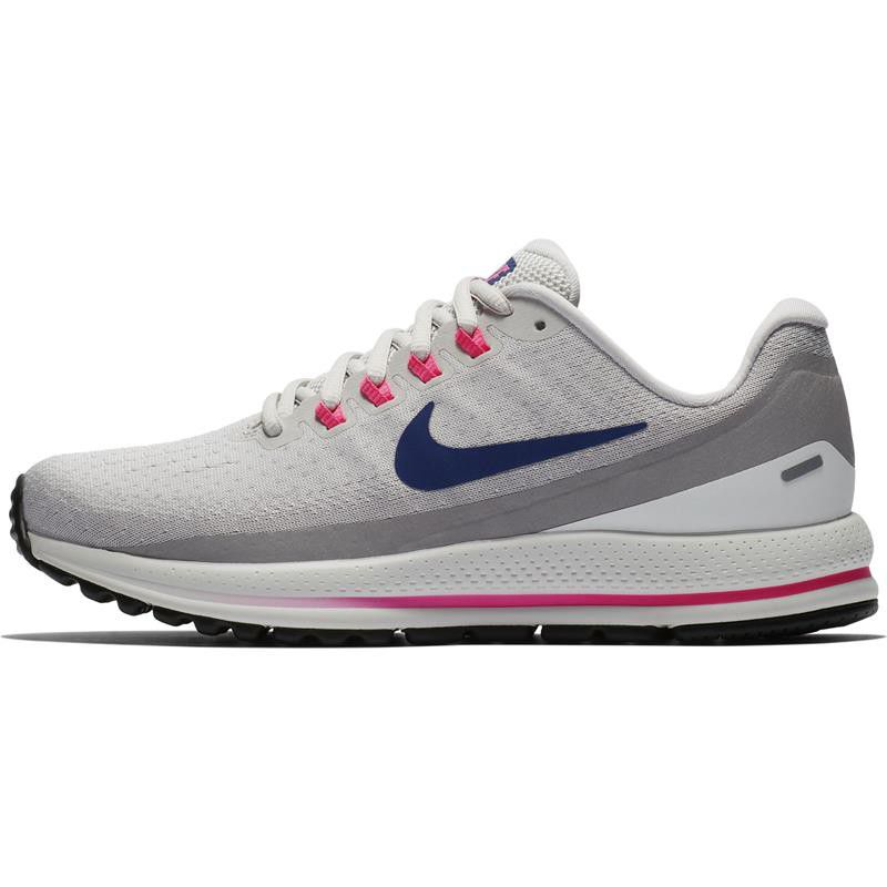 47c0a148e03f ... order nike womens air zoom vomero 13 running shoes vast grey deep royal  blue 292b9 06234