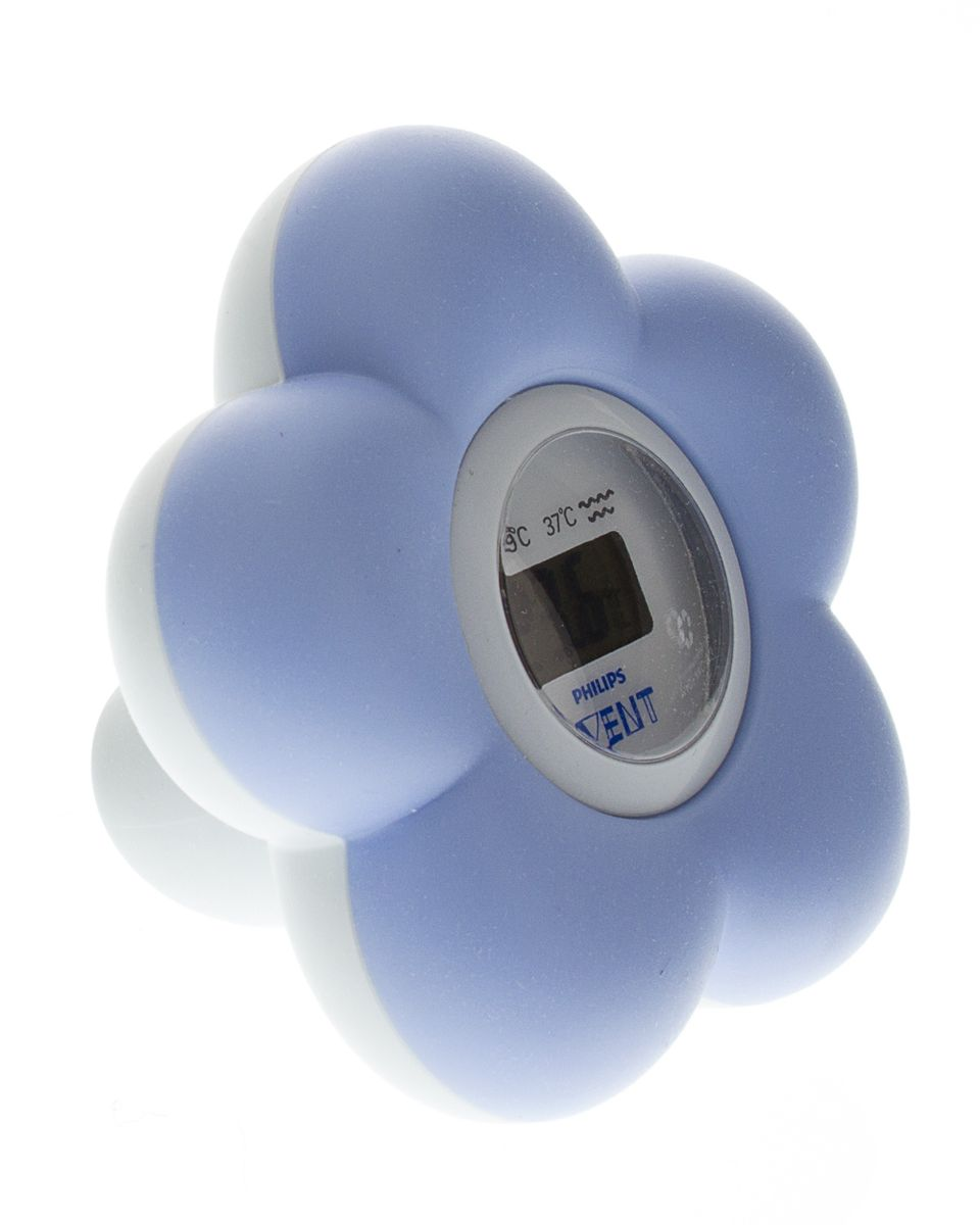 Avent - Digital Baby Bath & Room Thermometer - Blue | Buy Online in ...