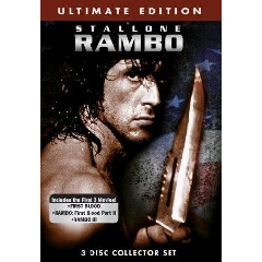 Rambo Trilogy :Ultimate Collection (Region 1 Import DVD)