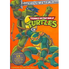 Teenage Mutant Ninja Turtles: Season Two - (Region 1 Import DVD)