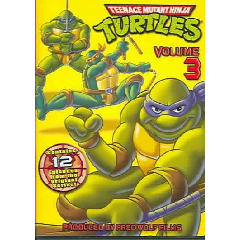 Teenage Mutant Ninja Turtles Vol 3 - (Region 1 Import DVD)