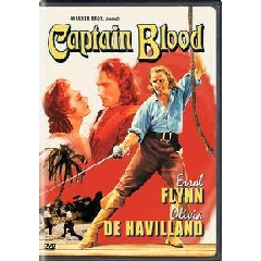 Captain Blood - (Region 1 Import DVD)