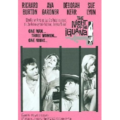 Night of the Iguana - (Region 1 Import DVD)