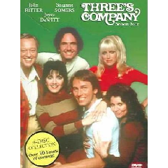 Three's Company:Season 4 - (Region 1 Import DVD)