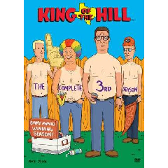 King of the Hill Season 3 - (Region 1 Import DVD)