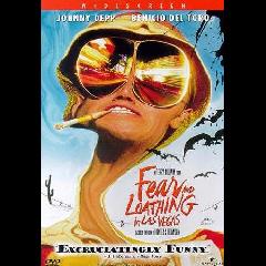 Fear and Loathing in Las Vegas - (Region 1 Import DVD)