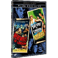 Wolfman Double Feature - Werewolf of London/She-Wolf of London - (Region 1 Import DVD)