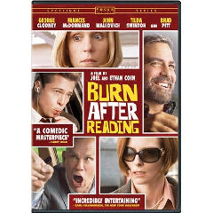 Burn After Reading - (Region 1 Import DVD)