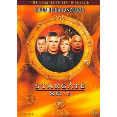 Stargate Sg 1:Season 6 - (Region 1 Import DVD)