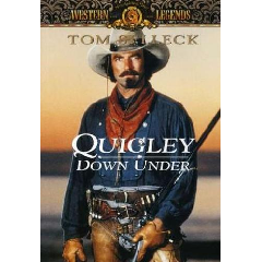 Quigley Down Under - (Region 1 Import DVD)