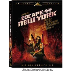 Escape from New York - Collector's - (Region 1 Import DVD)