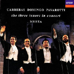 Pavarotti/Carreras/Domingo - In Concert 7Th July 1990 (CD)