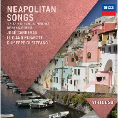 Luciano Pavarotti, Jose Carreras, Guiseppe Di Stefano - Neapolitan Songs (CD)