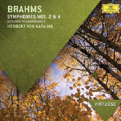 brahms - Symphonies Nos.2 & 4 (CD)