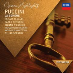 Virtuoso/bergonri, Tebaldi, Serafin - La Boheme - Highlights (CD)