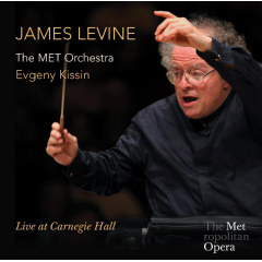 James Levine/evgeny Kissin - Live At Carnegie Hall (CD)