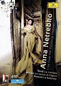 Anna Netrebko:Live from The Salzburg - (Region 1 Import DVD)