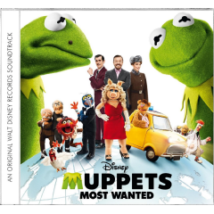 Muppets Most Wanted Ost - Muppet's Most Wanted (CD)