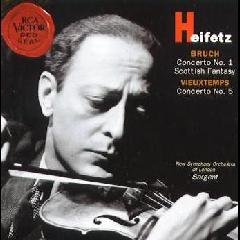 Jascha Heifetz - Violin Concertos / Scottish Fant (CD)
