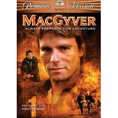 Macgyver : Complete First Season - (Region 1 Import DVD)