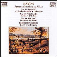 Capella Istropolitana - Symphonies Nos. 83 The Hen , 94 Surprise & 101 Clock (CD)