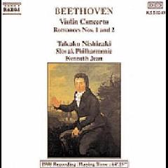 Takako Nishizaki - Violin Concerto / Romances Nos. 1 & 2 (CD)