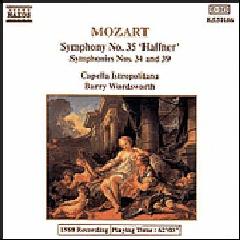 Capella Istropolitana - Symphonies Nos. 34, 35 Haffner & 39 (CD)