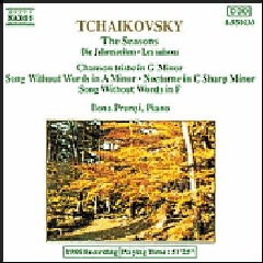 Tchaikovsky - The Seasons/Popular Piano Pieces/Prunyi (CD)