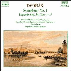 Czech-Slovak Radio Symphony Orchestra - Symphony No. 1 / Legends Nos. 1 - 5 (CD)