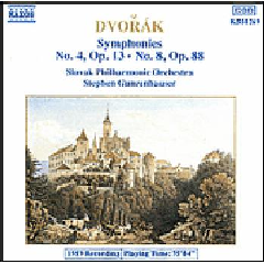Slovak Philharmonic Orchestra - Symphonies Nos. 4 & 8 (CD)
