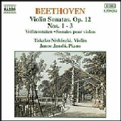Takako Nishizaki - Violin Sonatas Op. 12 Nos.1 - 3 (CD)