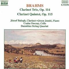 Kalman Balogh - Clarinet Trio / Clarinet Quintet (CD)