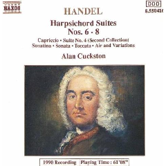 Alan Cuckston - Harpsichord Suites Nos.6-8 (CD)