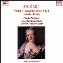 Takako Nishizaki - Violin Concertos Nos. 3 & 5 / Rondo / Adagio (CD)