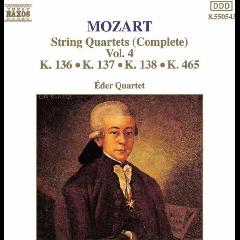 Eder Quartet - String Quartets - Vol.4 (CD)
