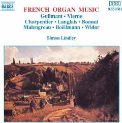 Simon Lindley - French Organ Music (CD)