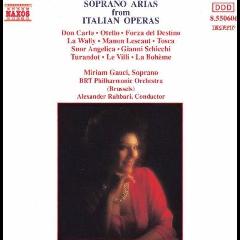 Miriam Gauci / Brt Phil, Brussels - Soprano Arias From Italian Operas (CD)