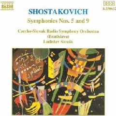 Czech-Slovak Radio Symphony Orchestra - Symphonies Nos. 5 & 9 (CD)
