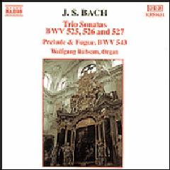 Wolfgang Rubsam - Trio Sonatas 1 - 3 / Prelude & Fugue Bwv 543 (CD)