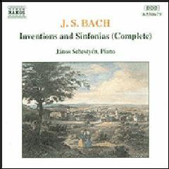 Janos Sebestyen - Inventions & Sinfonias - Complete (CD)