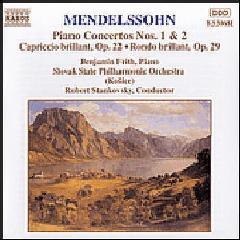 Benjamin Frith - Piano Concertos Nos. 1 & 2 / Capriccio Brillant / Rondo Brillant (CD)