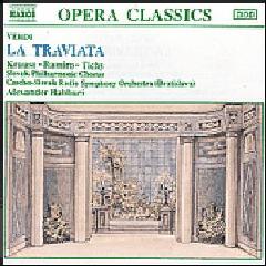 Krause / Ramiro / Tichy / Slovak Philharmonic Choir / Czech-Slovak Radio Symphony Orchestra - La Traviata (CD)