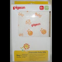 Pigeon - Disposable Baby Bib - 20 Piece
