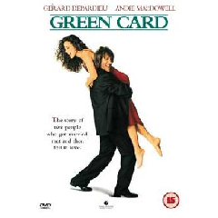 Green Card (Import DVD)