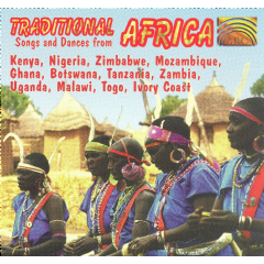 Adzido / Pan African Dance Ensemble - Ojah - Traditional Songs & Dances From Africa (CD)